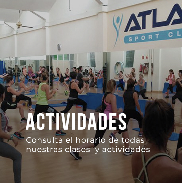 Actividades Gimnasio Atlas Vitoria